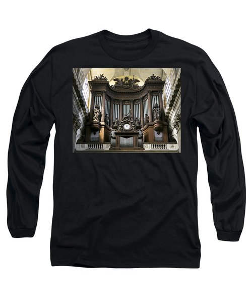 Pipe Organ In St Sulpice Long Sleeve T-Shirt
