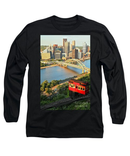 Pittsburgh Duquesne Incline Long Sleeve T-Shirt