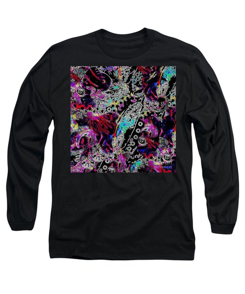 Pixel Paisley  Long Sleeve T-Shirt