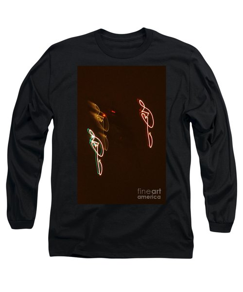 Plane Signatures Long Sleeve T-Shirt
