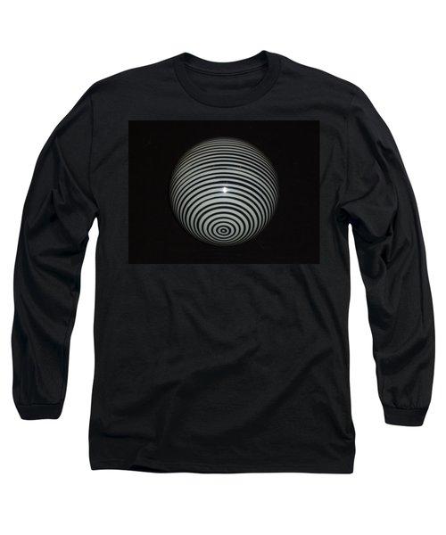 Planet Zebra Long Sleeve T-Shirt by Douglas Fromm