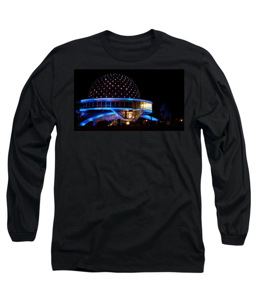 Long Sleeve T-Shirt featuring the photograph Planetarium by Silvia Bruno