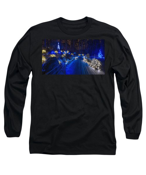 Plank Bridge - Panoramic Long Sleeve T-Shirt