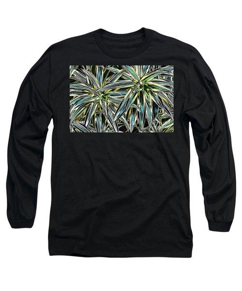 Long Sleeve T-Shirt featuring the photograph Plants  by Oksana Semenchenko