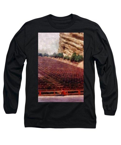 Playing At Red Rocks Long Sleeve T-Shirt