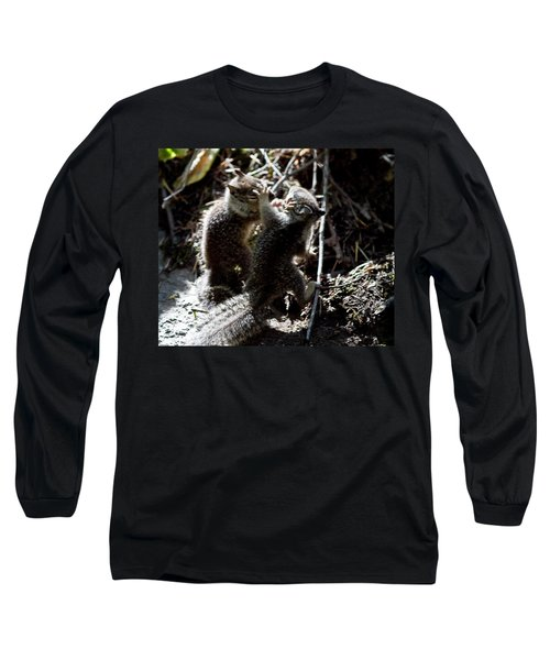 Playing U.f.c. Long Sleeve T-Shirt by Brian Williamson