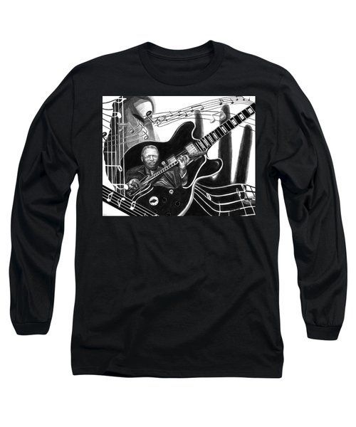 Playing With Lucille - Bb King Long Sleeve T-Shirt