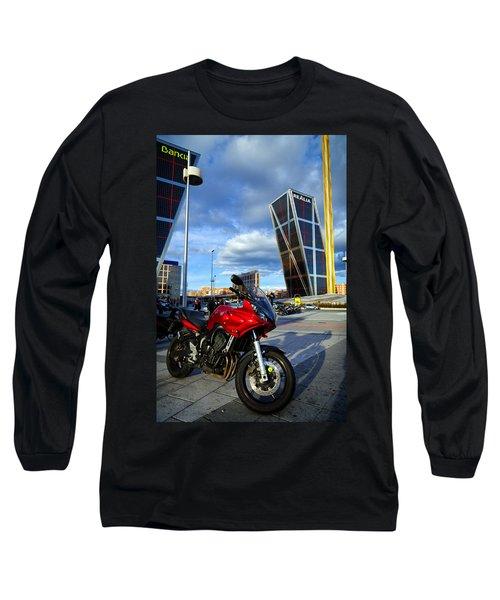Plaza De Castilla Long Sleeve T-Shirt