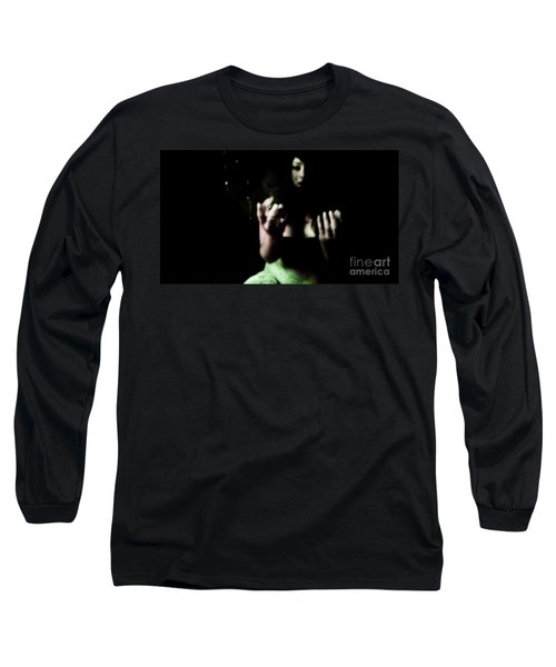 Long Sleeve T-Shirt featuring the photograph Pleading by Jessica Shelton