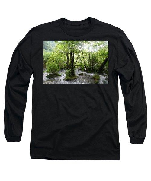 Plitvice Lakes Long Sleeve T-Shirt