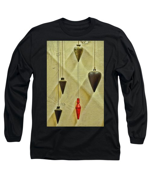 Long Sleeve T-Shirt featuring the photograph Plumb Red by Jan Amiss Photography