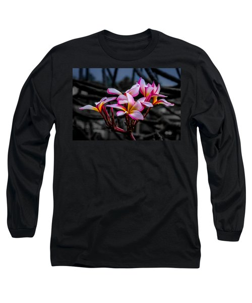 Plumeria Rainbow Ali Long Sleeve T-Shirt
