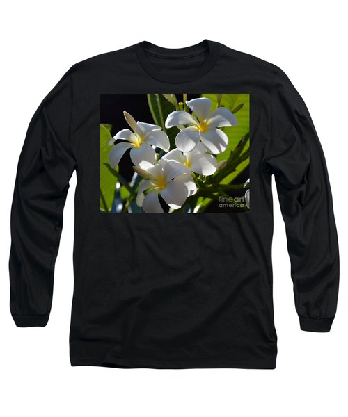 Long Sleeve T-Shirt featuring the photograph Plumeria's IIi by Robert Meanor