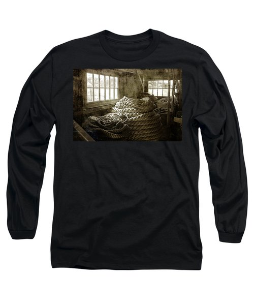 Plymouth Cordage Company Ropewalk Long Sleeve T-Shirt