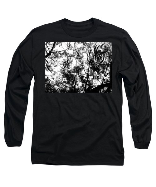 Long Sleeve T-Shirt featuring the photograph Poinciana Lace by Amar Sheow