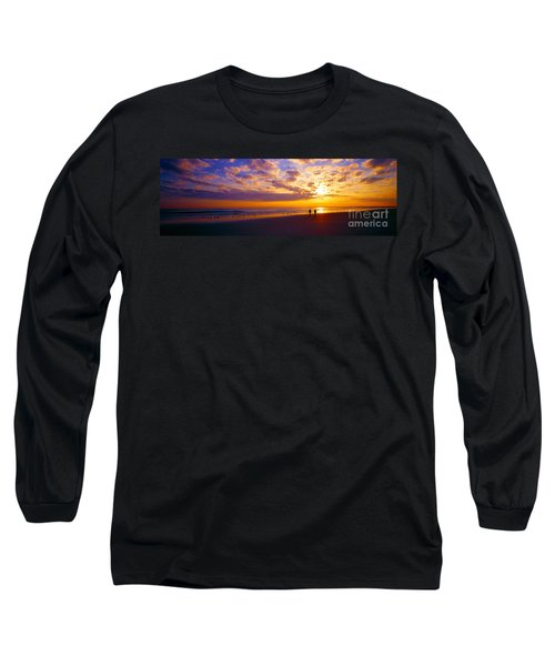Long Sleeve T-Shirt featuring the photograph Ponce Inlet Fl Sunrise  by Tom Jelen