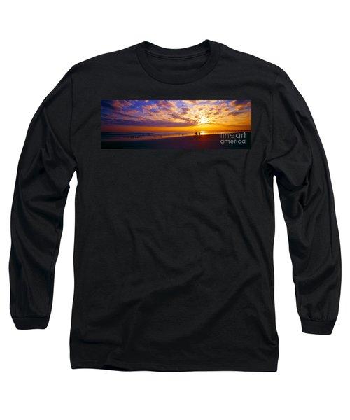 Ponce Inlet Fl Sunrise  Long Sleeve T-Shirt