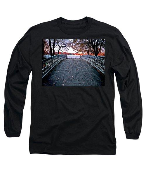 Pond Footbridge Long Sleeve T-Shirt