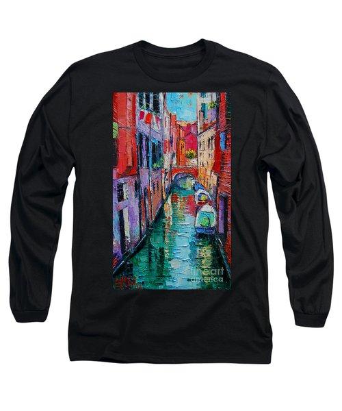 Ponte Raspi O Sansoni - Venice - Italy Long Sleeve T-Shirt
