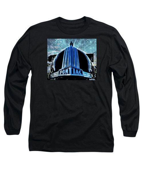 Long Sleeve T-Shirt featuring the photograph Pontiac Chrome by Victor Montgomery