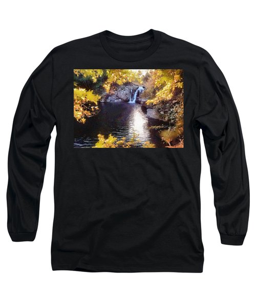 Pool And Falls Long Sleeve T-Shirt