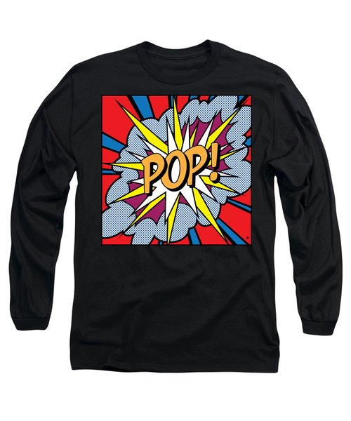 Pop Art Long Sleeve T-Shirt