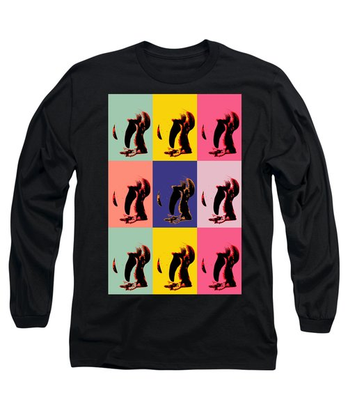 Pop Art Penguin  Long Sleeve T-Shirt