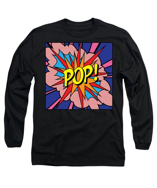 Pop Exclamation Long Sleeve T-Shirt