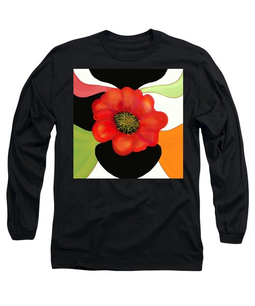 Pop Poppy Long Sleeve T-Shirt