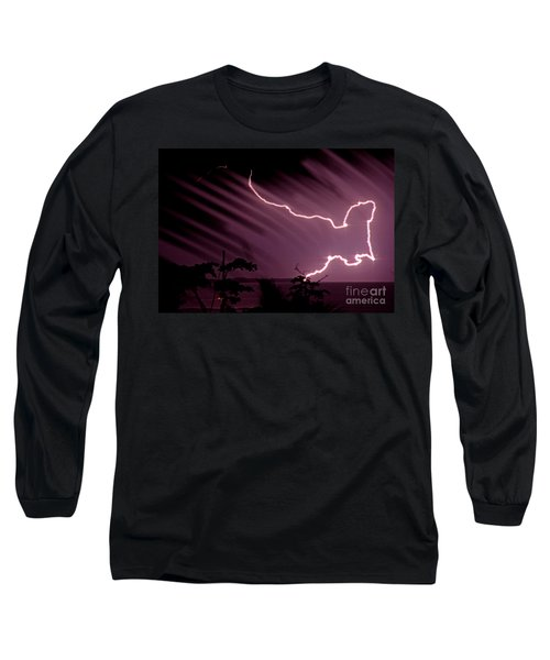Popa Island Lightning Long Sleeve T-Shirt