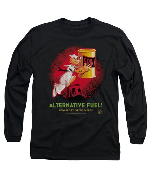 Popeye - Alternative Fuel Long Sleeve T-Shirt by Brand A
