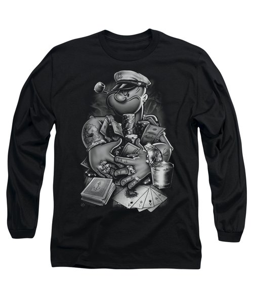 Popeye - Mine All Mine Long Sleeve T-Shirt
