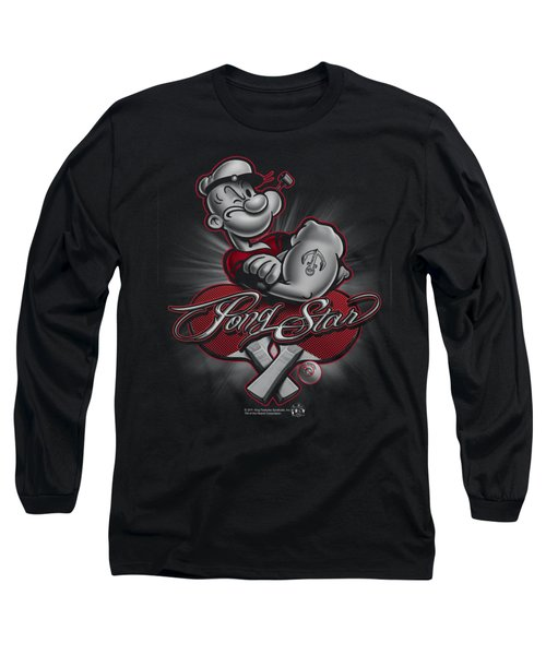 Popeye - Pong Star Long Sleeve T-Shirt by Brand A