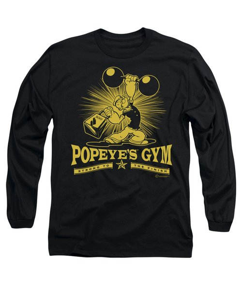 Popeye - Popeyes Gym Long Sleeve T-Shirt by Brand A