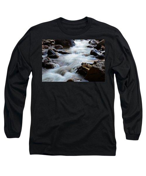 Popo Agie Flow Long Sleeve T-Shirt by Eric Nielsen