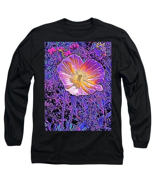 Long Sleeve T-Shirt featuring the photograph Poppy 3 by Pamela Cooper