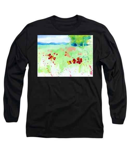 Poppy Passion Long Sleeve T-Shirt
