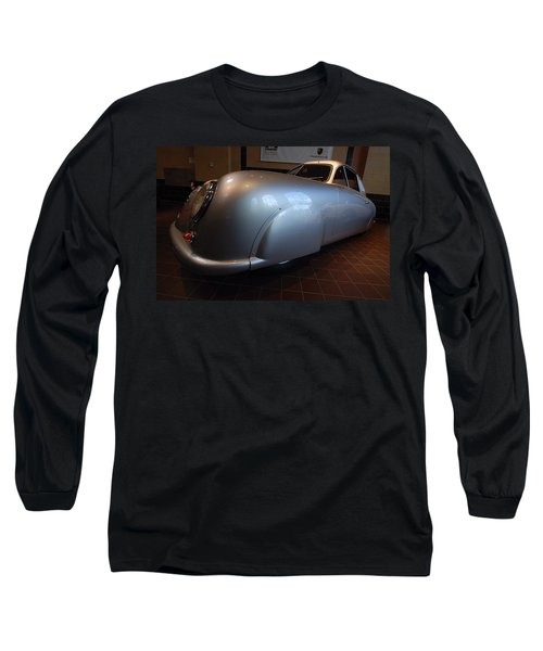 Long Sleeve T-Shirt featuring the photograph Porsche 1949 356 S L Gmund Coupe by John Schneider