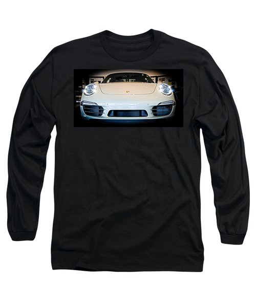 Porsche 911 50th Front With Led's Long Sleeve T-Shirt