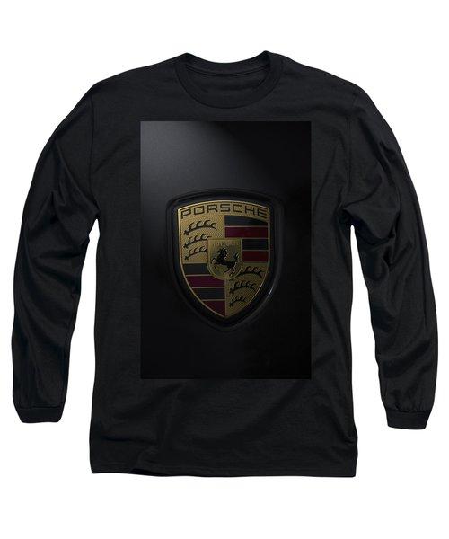 Porsche Logo Long Sleeve T-Shirt