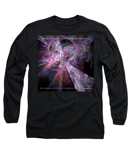 Portal Long Sleeve T-Shirt by Margie Chapman