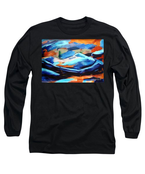 Portrait Of A Figure Long Sleeve T-Shirt