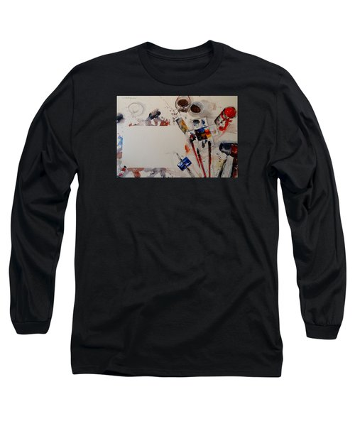Portrait Of A Master Long Sleeve T-Shirt by Sandra Strohschein