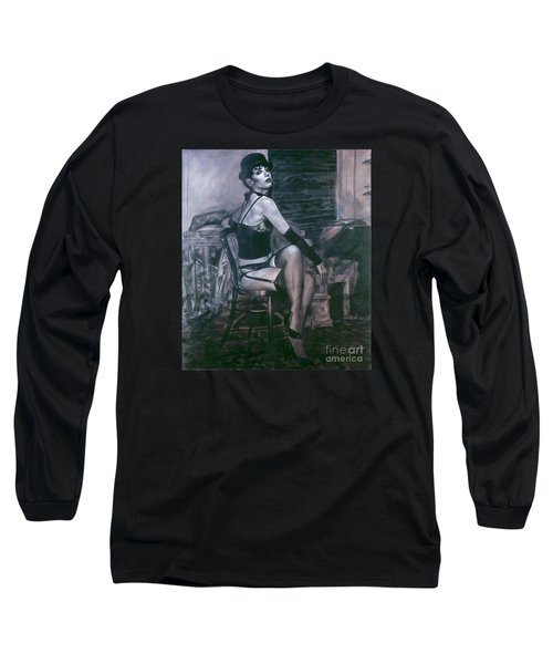 Portrait Of A Night Infatuation Long Sleeve T-Shirt