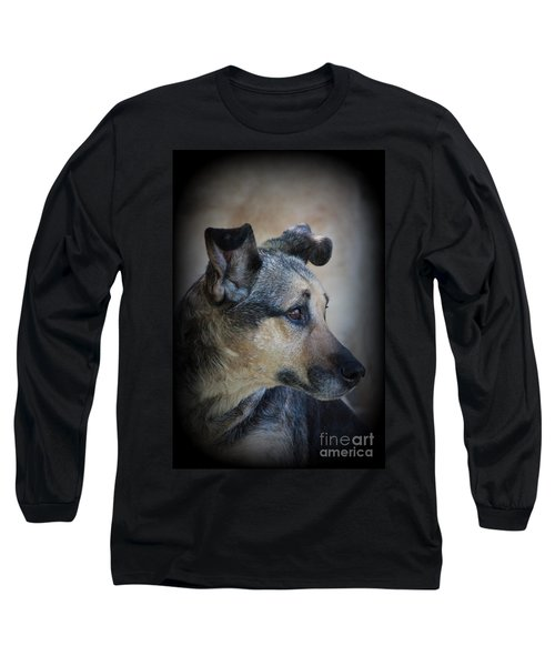 Portrait Of Kylie Long Sleeve T-Shirt