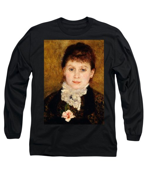 Portrait Of Woman Long Sleeve T-Shirt