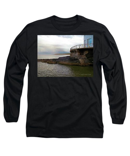 Portrush Northern Ireland Long Sleeve T-Shirt by Tara Potts