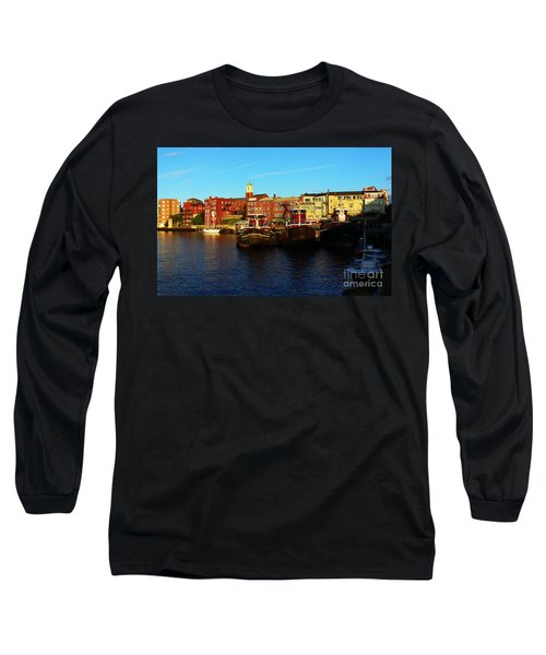 Portsmouth In The Afternoon Long Sleeve T-Shirt by Kevin Fortier