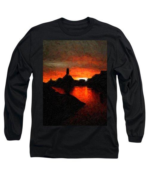 Powell Sunset Long Sleeve T-Shirt