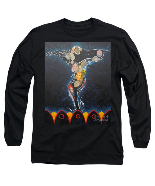 Power Of Man Long Sleeve T-Shirt